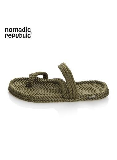 Nomadic Republic Sandalet Haki
